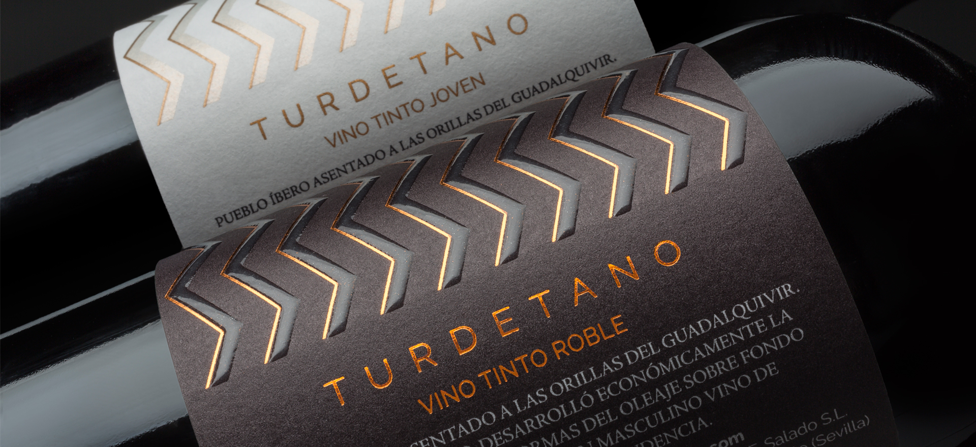 Turdetano packaging TSMGO
